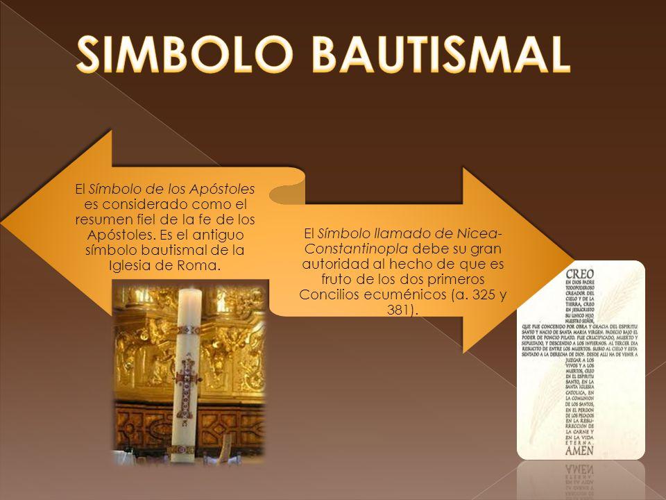 SIMBOLO BAUTISMAL