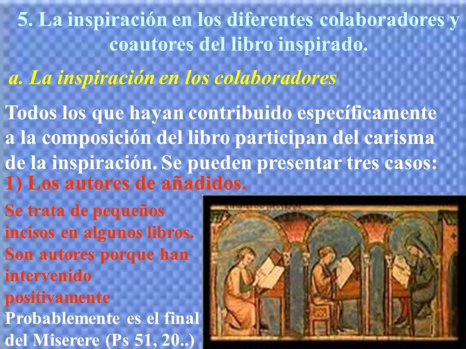 a. La inspiración en los colaboradores