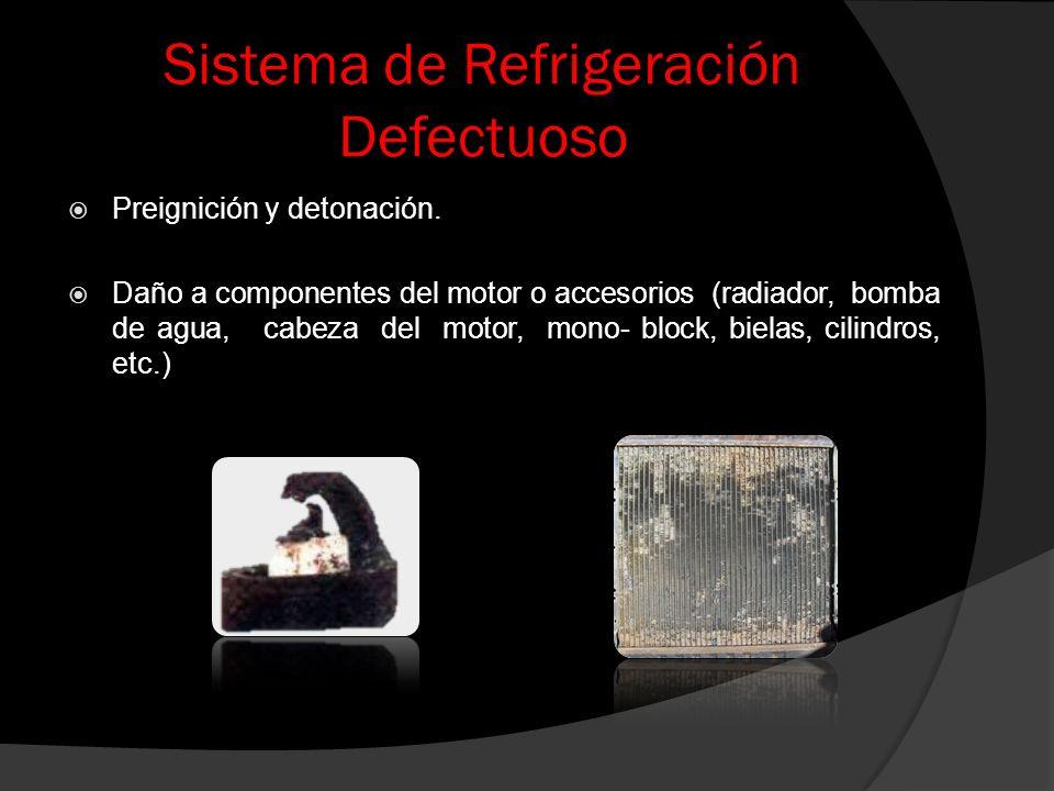 Sistema de Refrigeración Defectuoso
