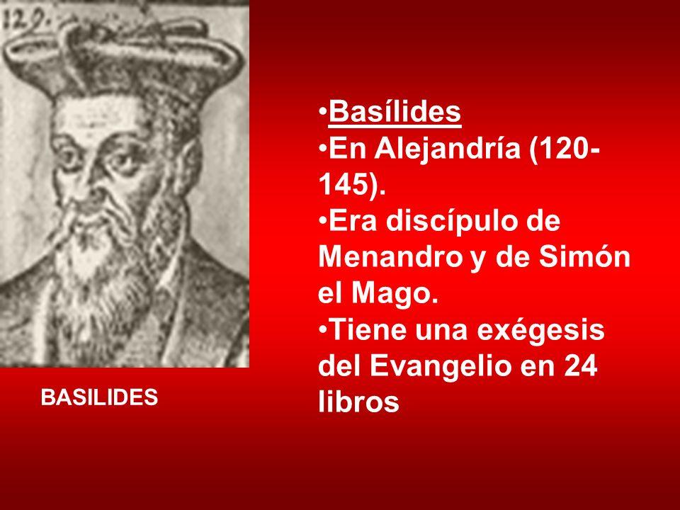 Era discípulo de Menandro y de Simón el Mago.
