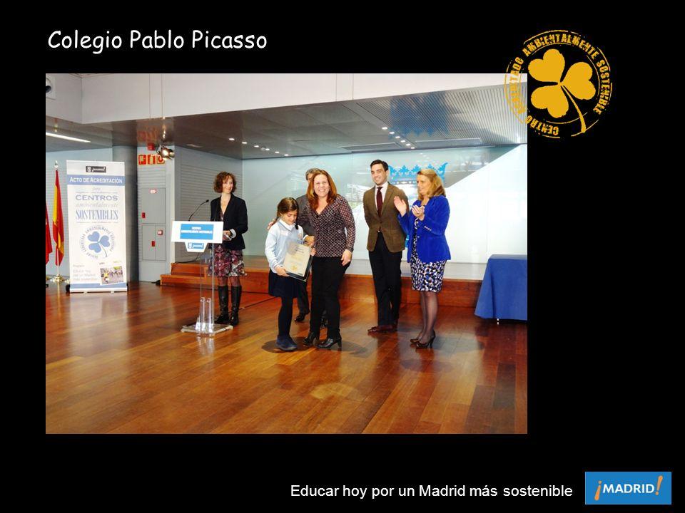 Colegio Pablo Picasso Educar hoy por un Madrid más sostenible