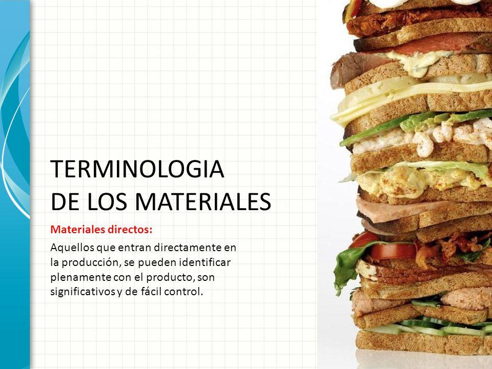 TERMINOLOGIA DE LOS MATERIALES