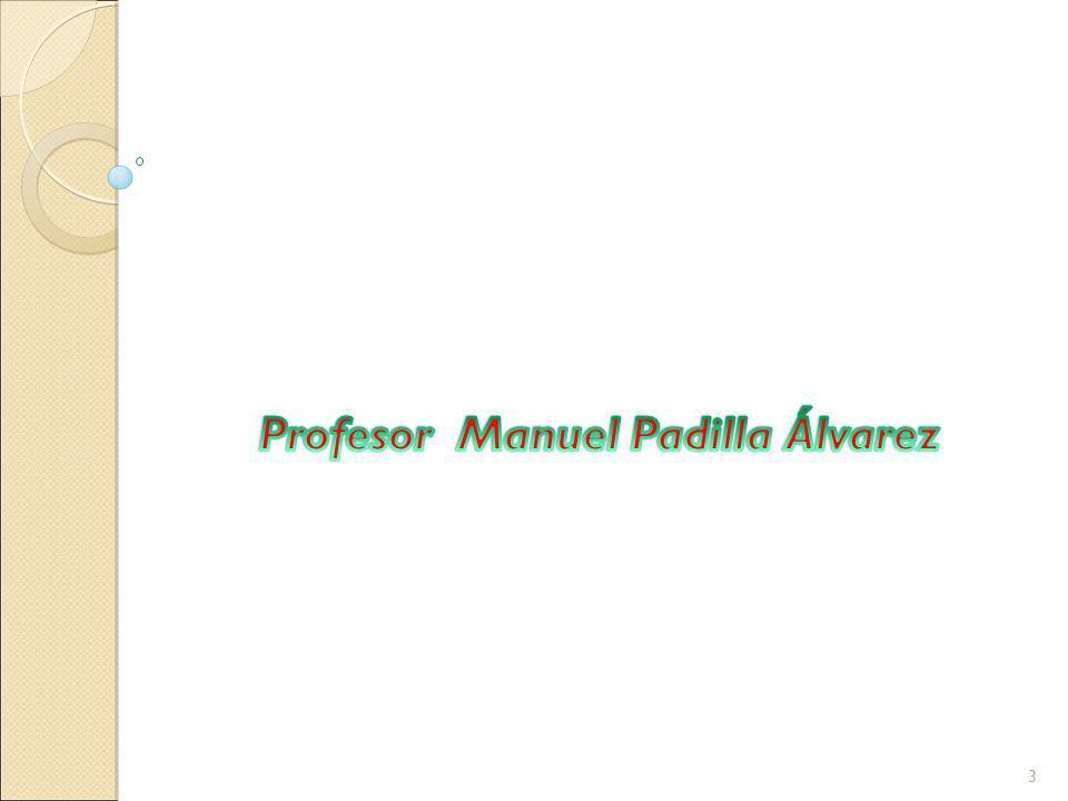 Profesor Manuel Padilla Álvarez