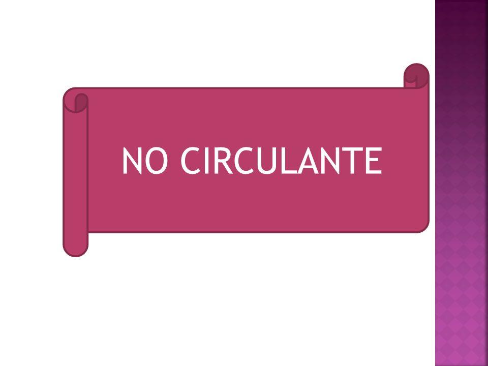 NO CIRCULANTE
