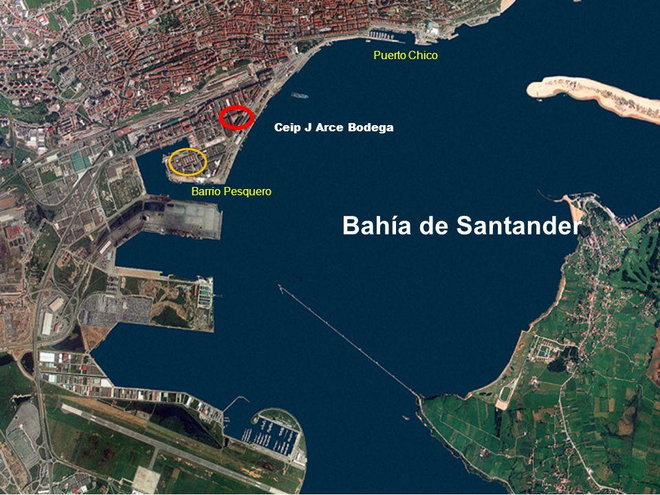 Puerto Chico Ceip J Arce Bodega Barrio Pesquero Bahía de Santander