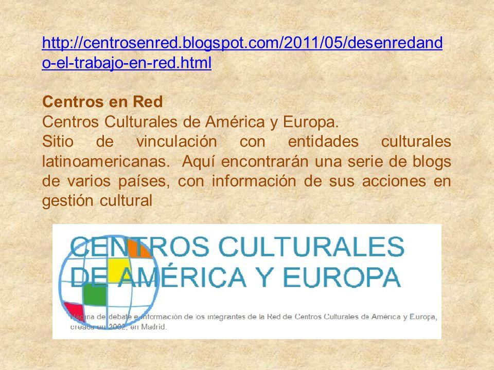 http://centrosenred. blogspot