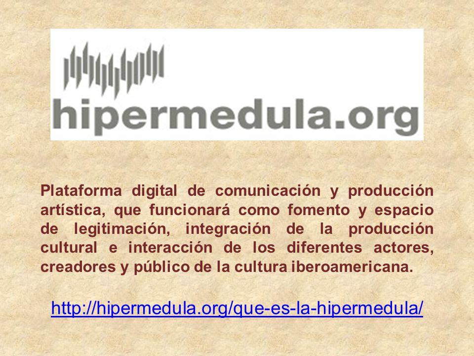 Plataforma digital de comunicación y producción artística, que funcionará como fomento y espacio de legitimación, integración de la producción cultural e interacción de los diferentes actores, creadores y público de la cultura iberoamericana.