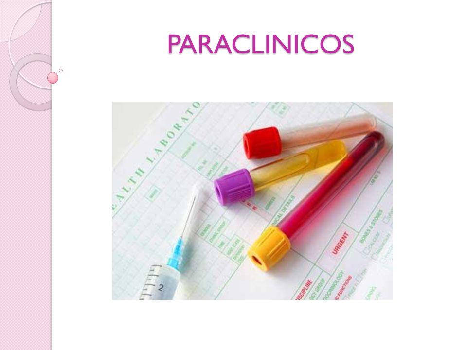 PARACLINICOS