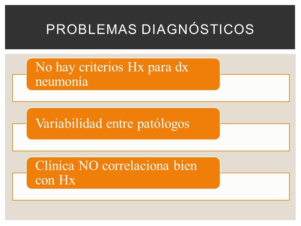 Problemas diagnósticos