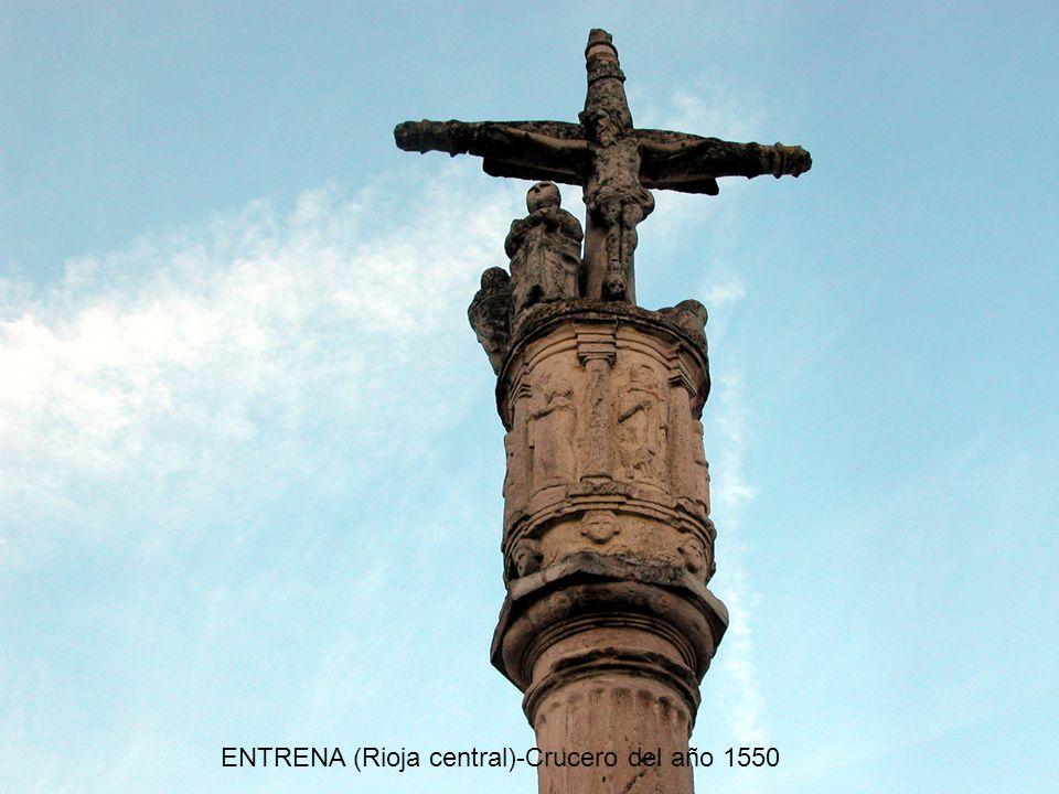 ENTRENA (Rioja central)-Crucero del año 1550