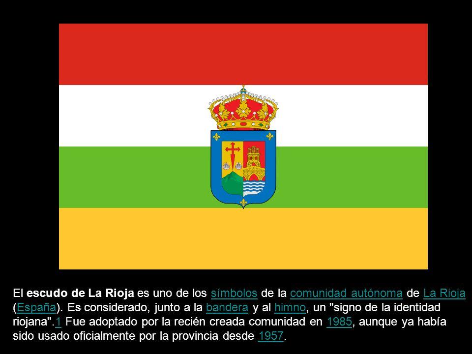 El escudo de La Rioja es uno de los símbolos de la comunidad autónoma de La Rioja (España).