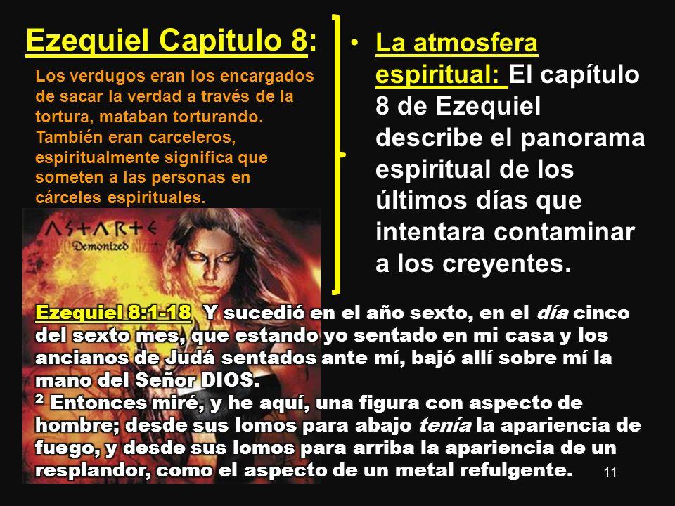 Ezequiel Capitulo 8:
