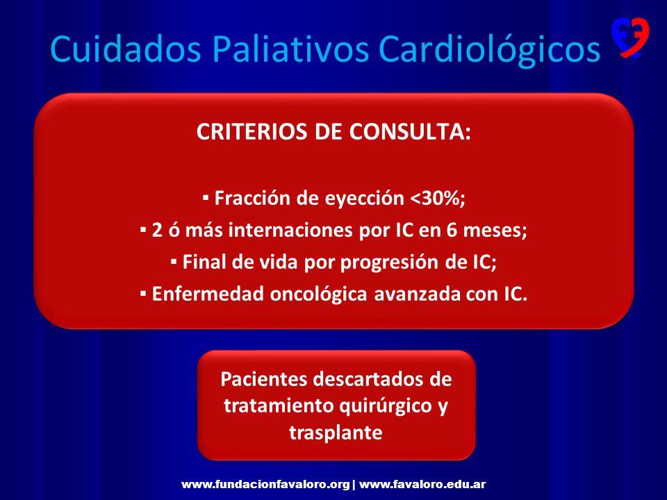 Cuidados Paliativos Cardiológicos