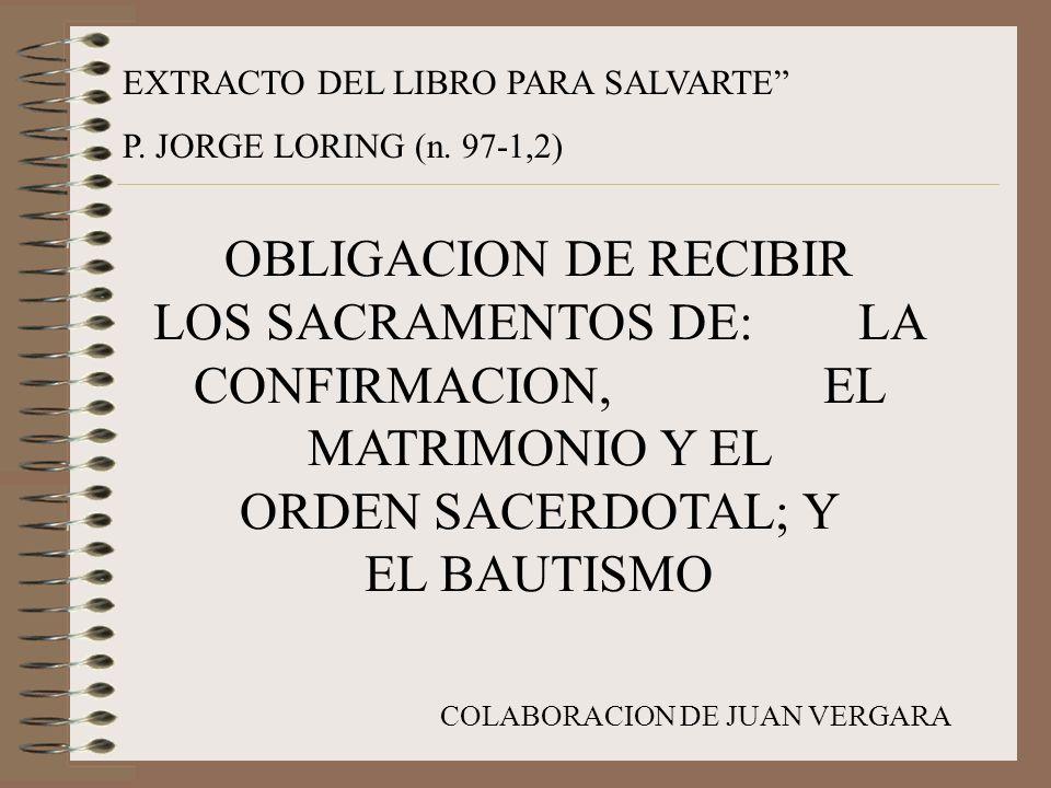 EXTRACTO DEL LIBRO PARA SALVARTE