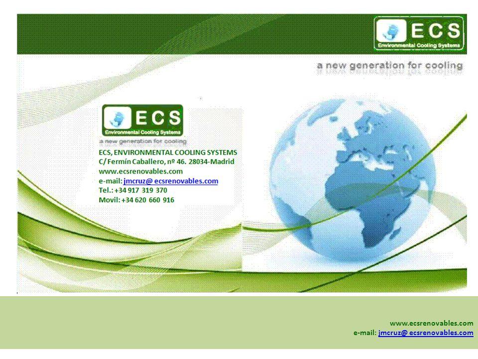 www.ecsrenovables.com e-mail: jmcruz@ ecsrenovables.com