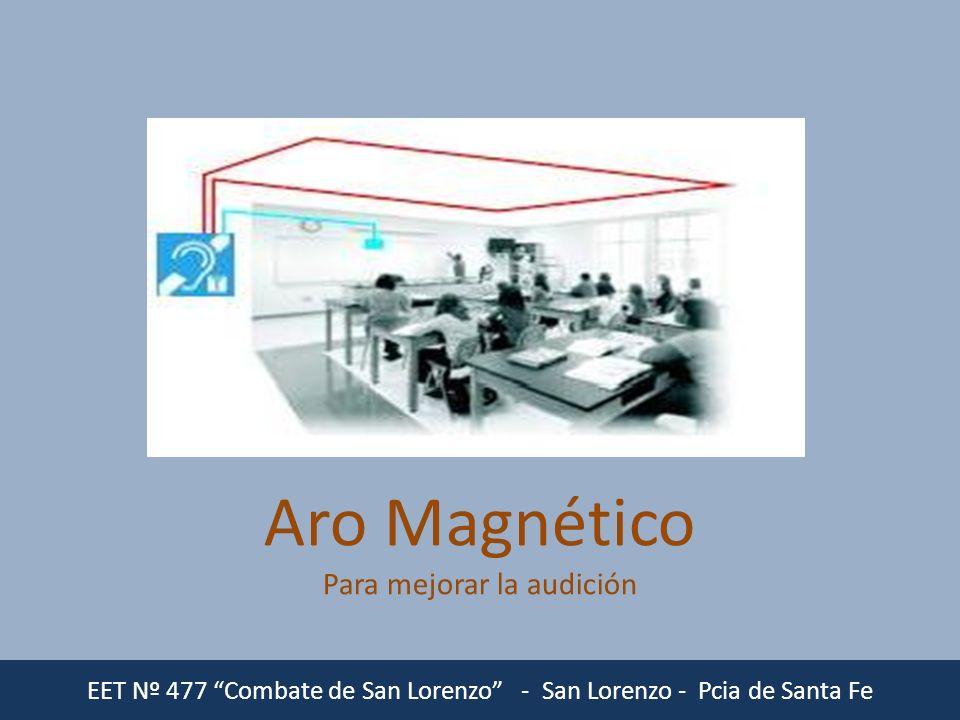 Aro Magnético Para mejorar la audición