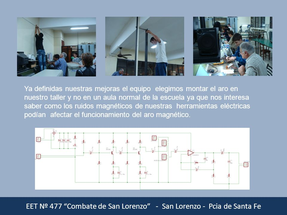 EET Nº 477 Combate de San Lorenzo - San Lorenzo - Pcia de Santa Fe