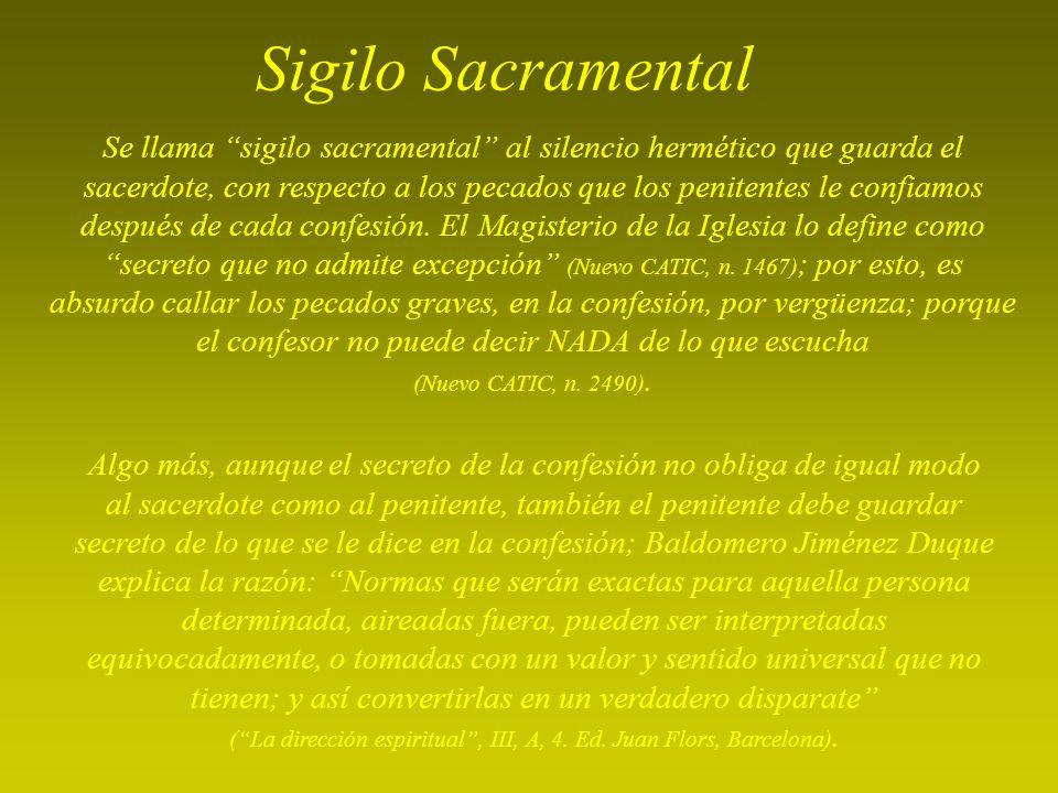 Sigilo Sacramental
