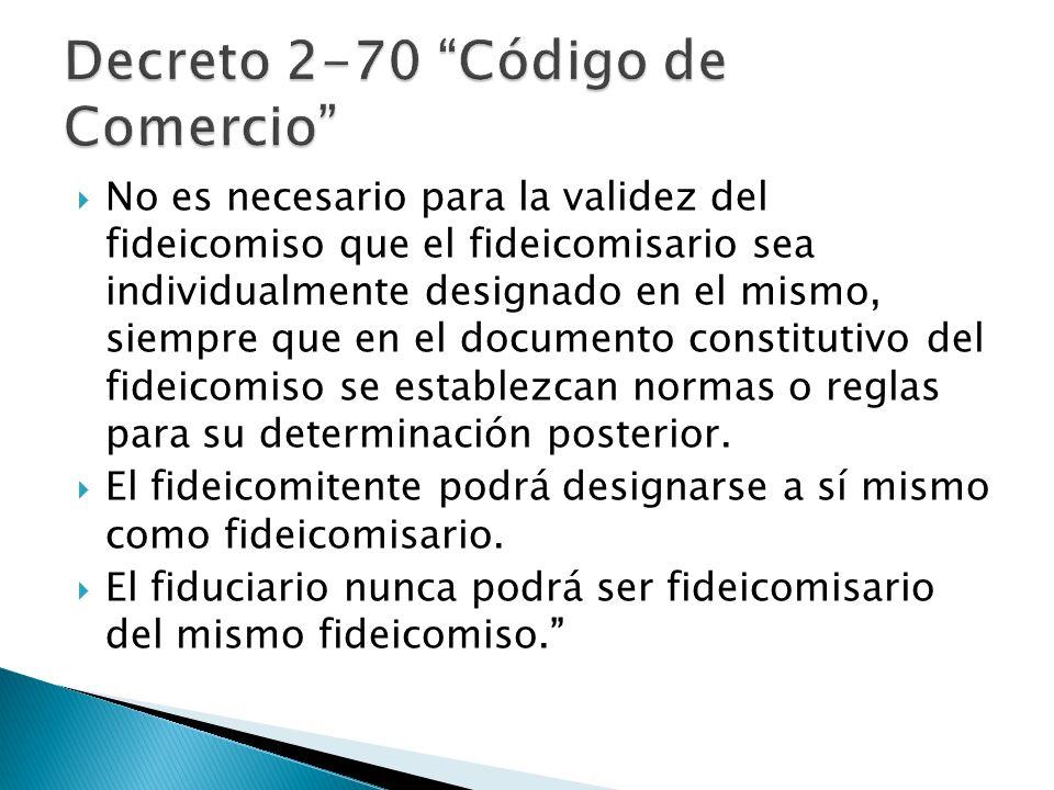 Decreto 2-70 Código de Comercio