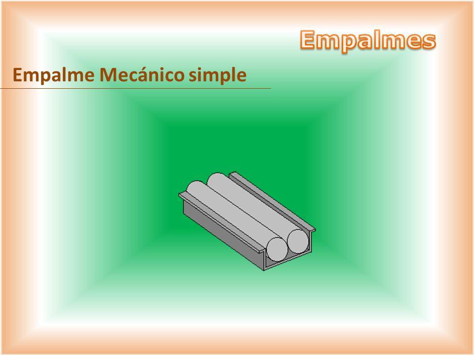 Empalmes Empalme Mecánico simple