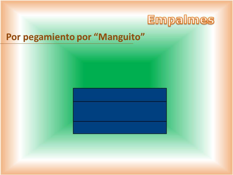 Empalmes Por pegamiento por Manguito