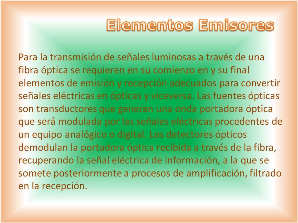 Elementos Emisores