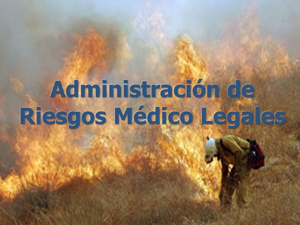 Administración de Riesgos Médico Legales