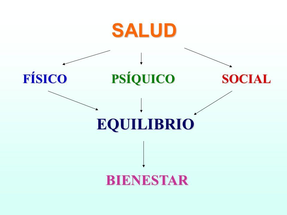 SALUD FÍSICO PSÍQUICO SOCIAL EQUILIBRIO BIENESTAR 6