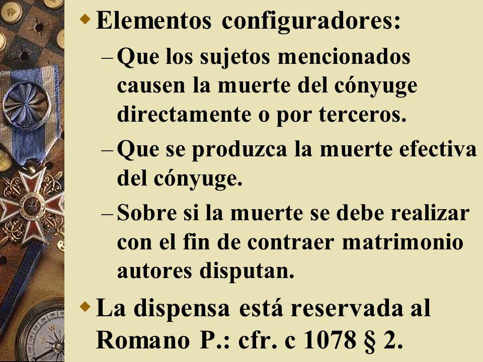 Elementos configuradores: