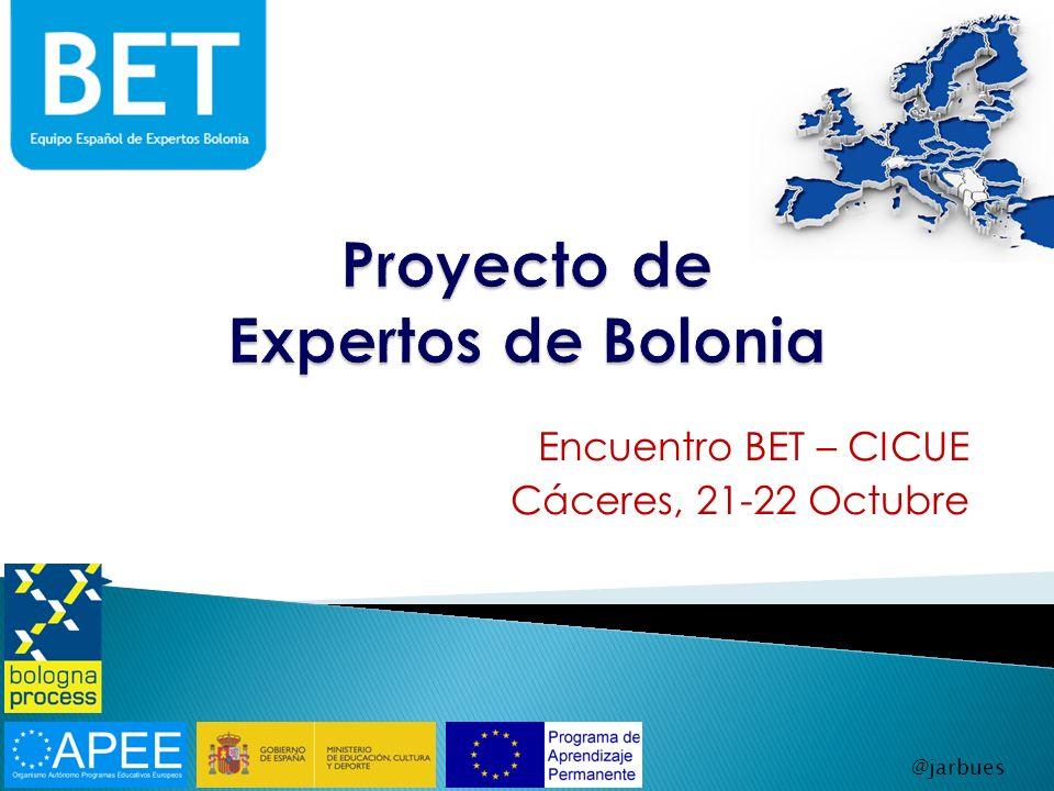 Proyecto de Expertos de Bolonia