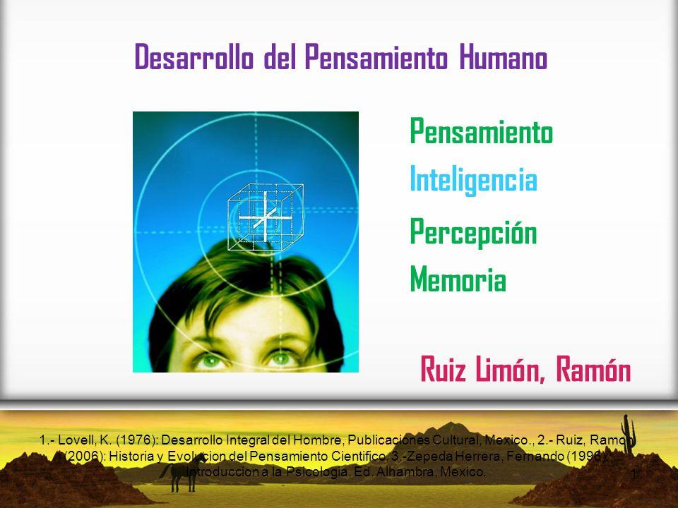 Desarrollo del Pensamiento Humano