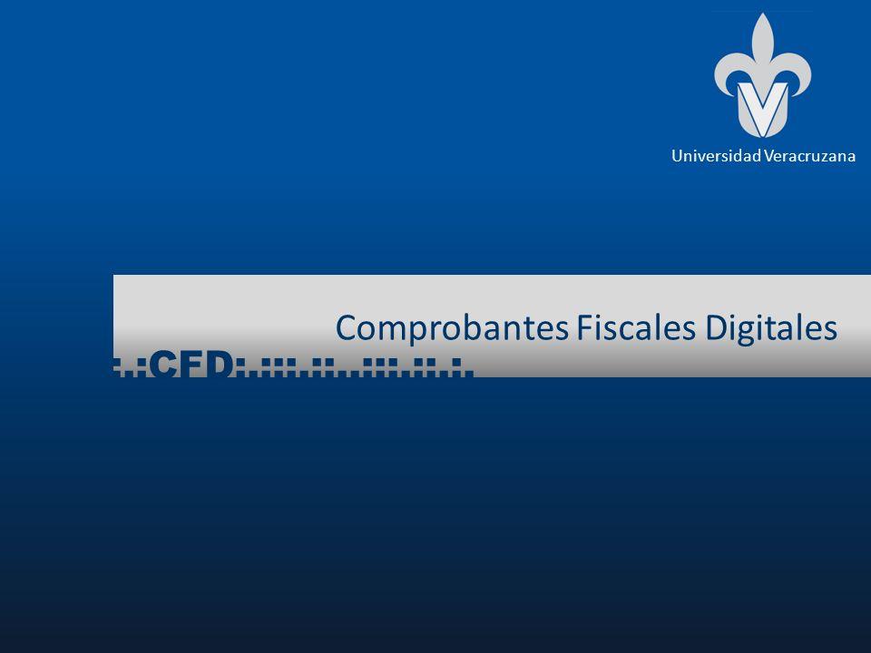 Comprobantes Fiscales Digitales :.:CFD:.:::.::..:::.::.:.