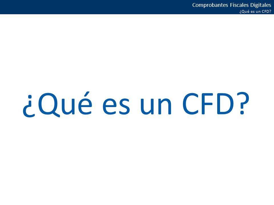 ¿Qué es un CFD