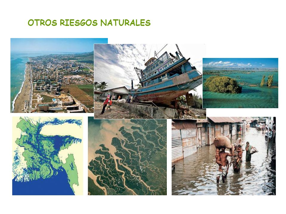 OTROS RIESGOS NATURALES