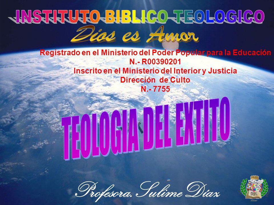 INSTITUTO BIBLICO TEOLOGICO