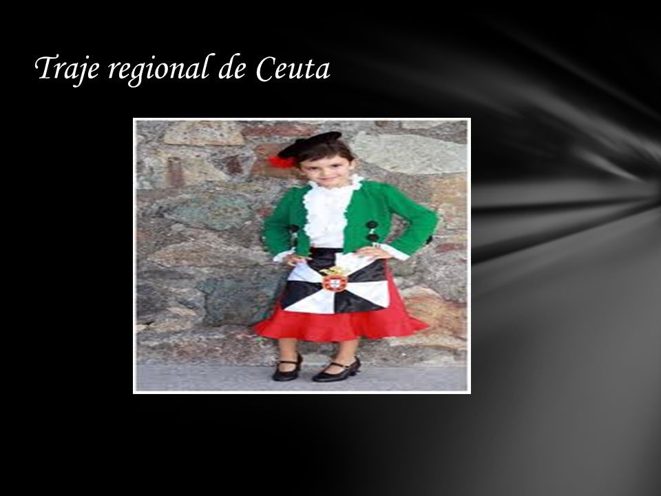 Traje regional de Ceuta