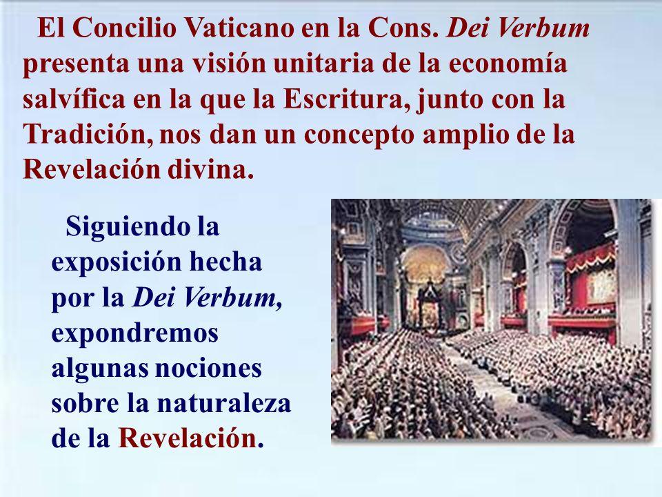 El Concilio Vaticano en la Cons