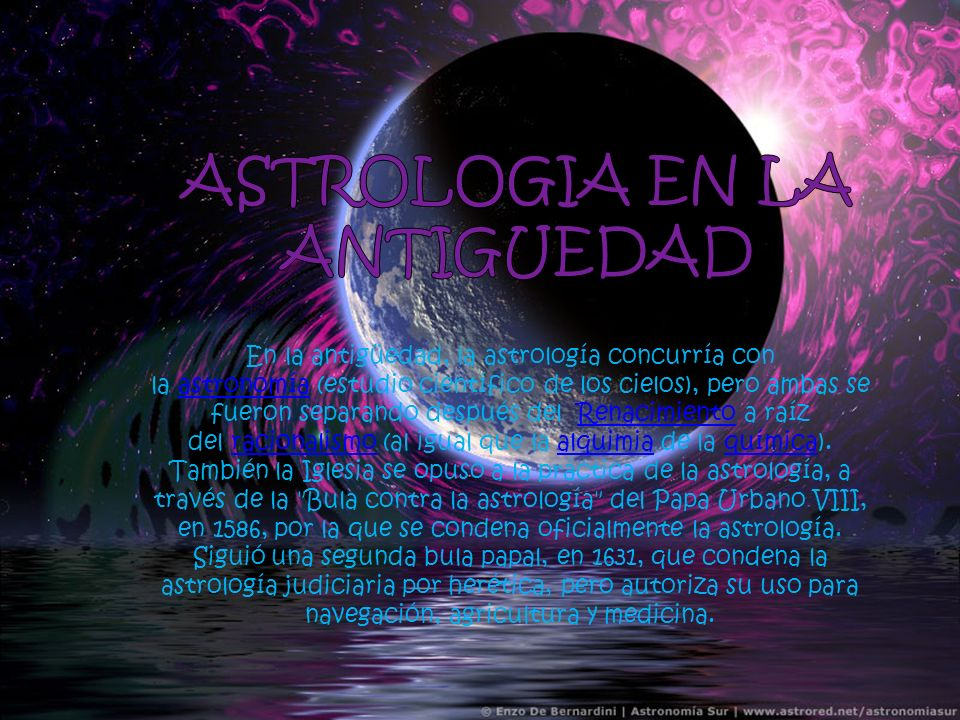 ASTROLOGIA EN LA ANTIGUEDAD