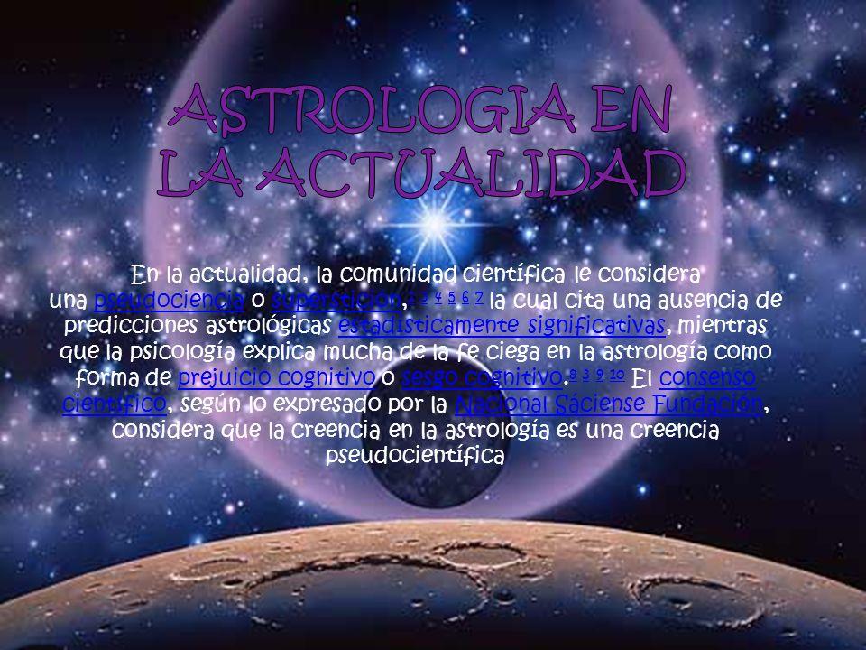 ASTROLOGIA EN LA ACTUALIDAD