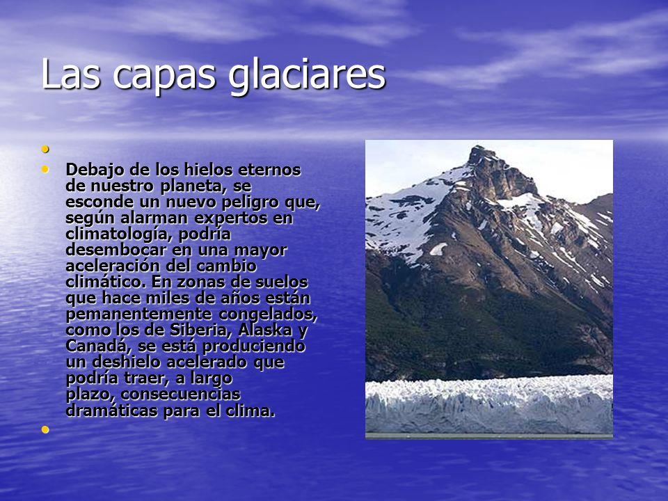 Las capas glaciares