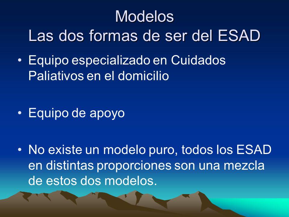 Modelos Las dos formas de ser del ESAD