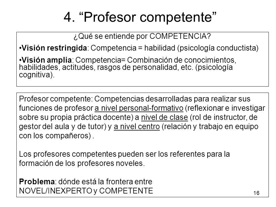 4. Profesor competente