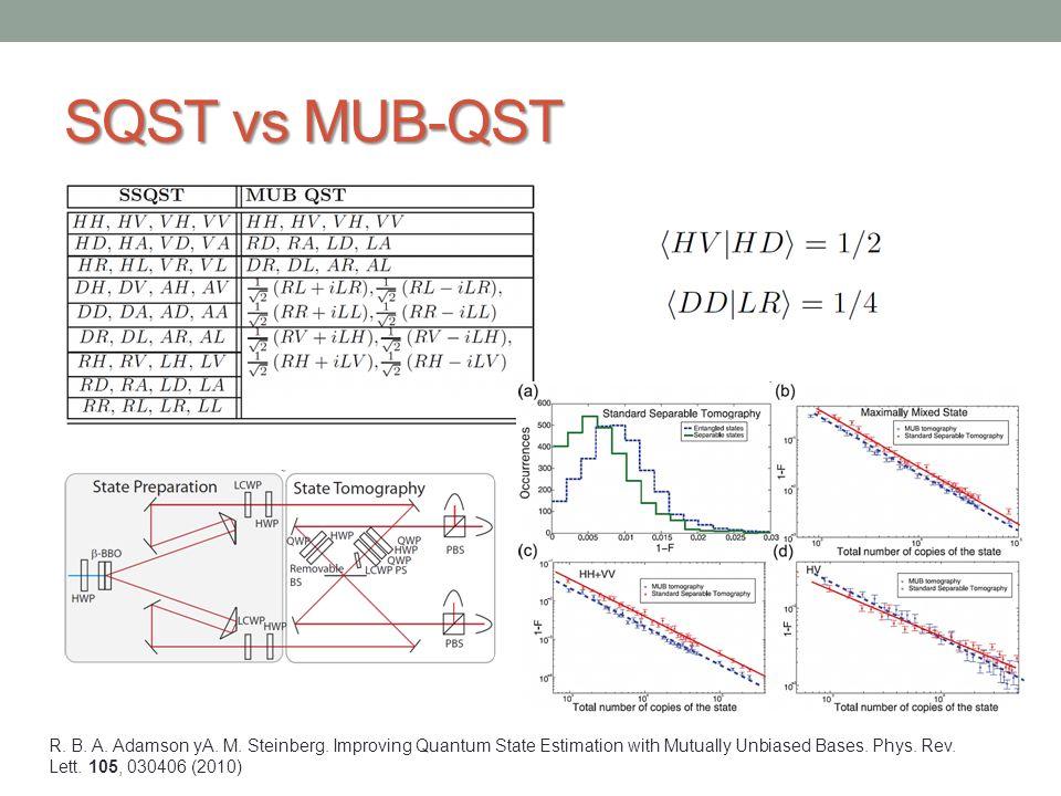 SQST vs MUB-QST
