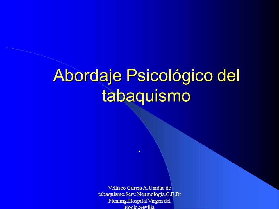 Abordaje Psicológico del tabaquismo