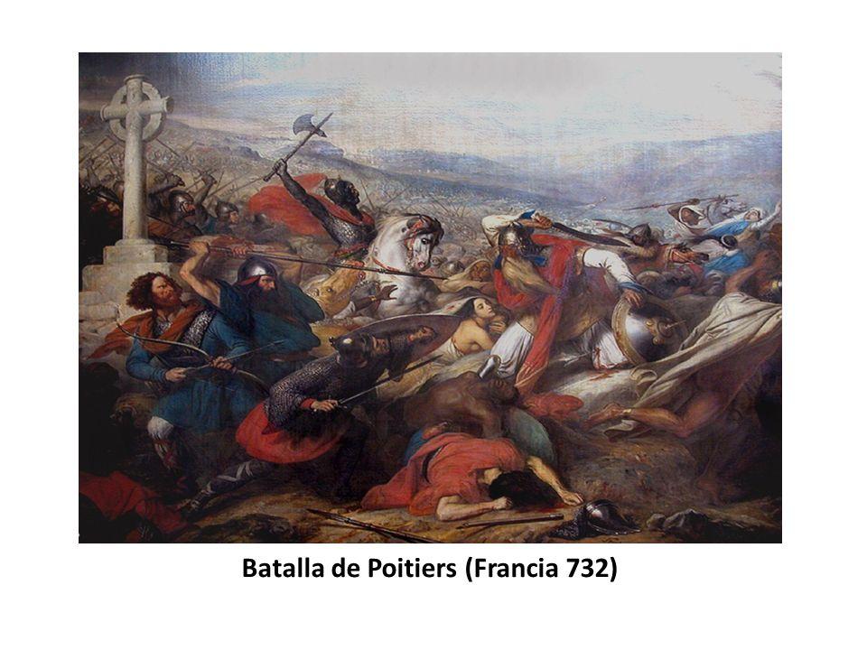 Batalla de Poitiers (Francia 732)