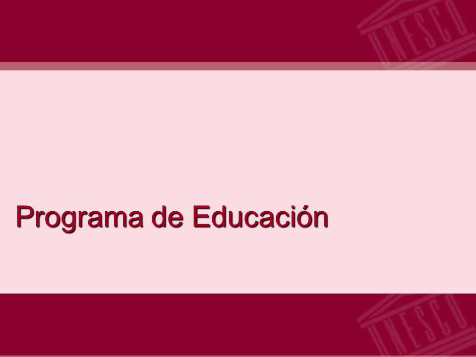 Programa de Educación