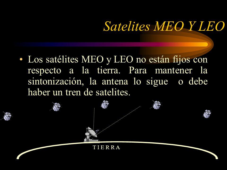 Satelites MEO Y LEO
