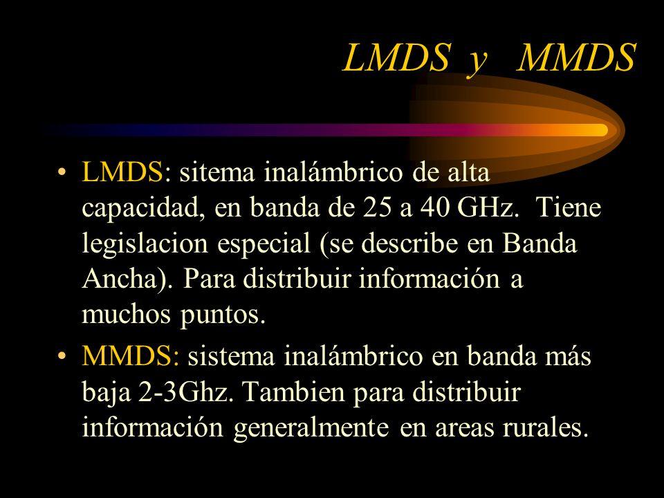 LMDS y MMDS