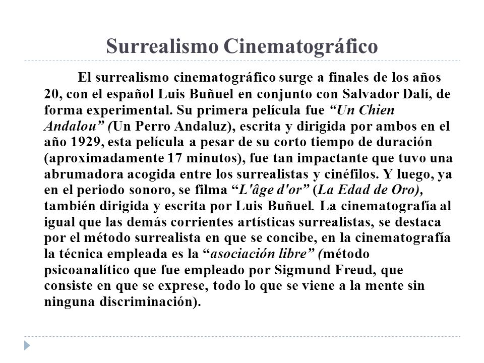 Surrealismo Cinematográfico