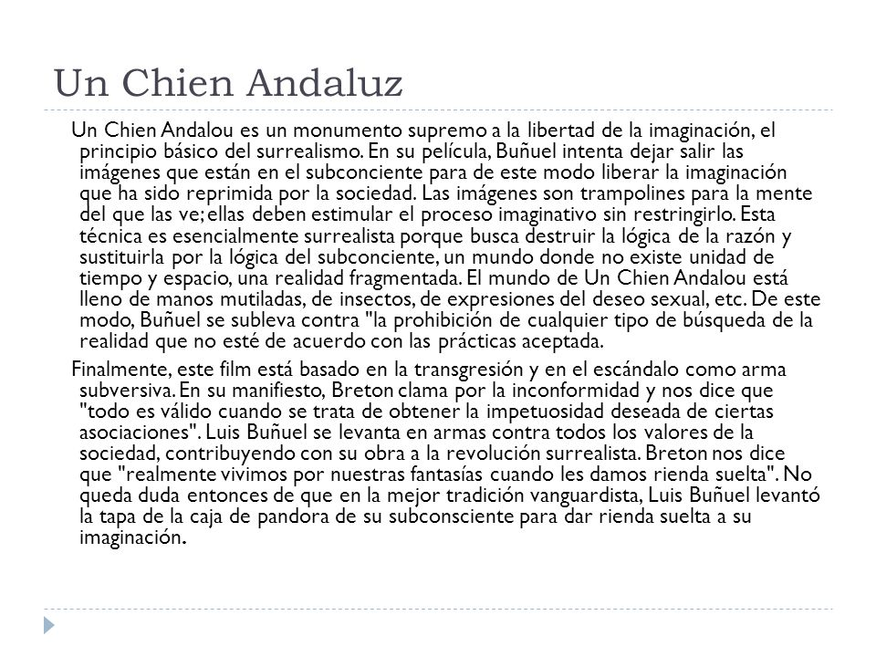 Un Chien Andaluz